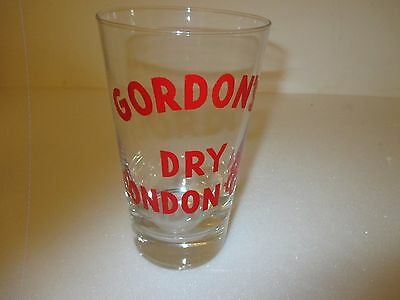 "COLLECTOR, VERRE à COCKTAIL, "" Gordon's Dry London Gin """