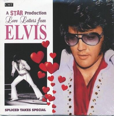 Elvis Collectors CD - Love Letters From Elvis - Spliced Takes  - Free Shipping