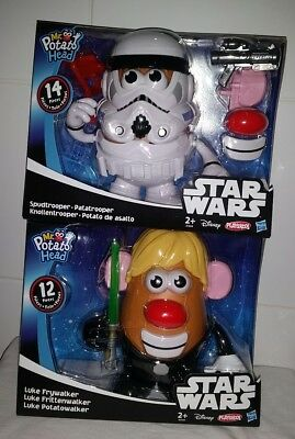 STAR WARS MR POTATO HEAD TOY Luke Frywalker - Luke Skywalker Hasbro Playset NEW