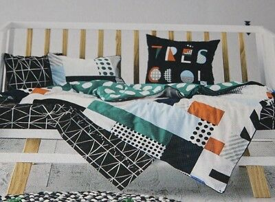 adairs kids GRAFIK Cot quilt cover set RRP $99.95