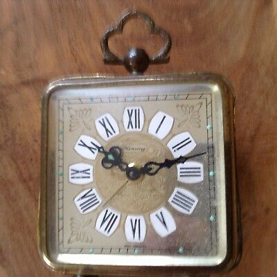 Small Vintage Blessing Clock Spares/parts West German