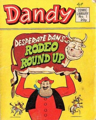 Uk Comics Dandy Comic Library Collection On Dvd 340+ Comics