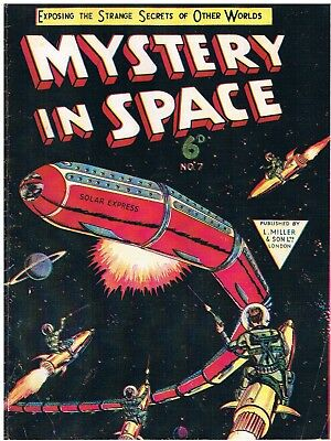 Mystery In Space #7 Whitworth Facsimile Comic: Dc Comics 1954