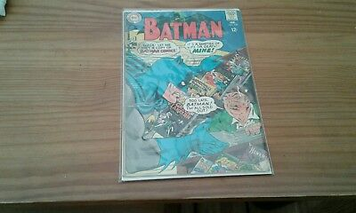 Vintage silver age BATMAN #199 CLASSIC COVER! FEB 1968, CENTS issue