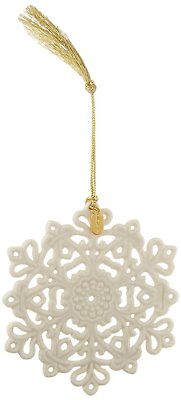 Lenox 2017 Snow Fantasies Snowflake Ornament