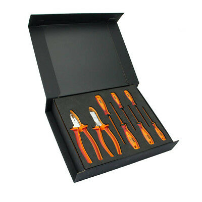 Personalised Electricians Pliers & Screwdriver Set in Gift Box