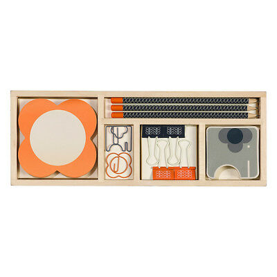 NEW Orla Kiely Wooden Office Set Women's by WILD & WOLF
