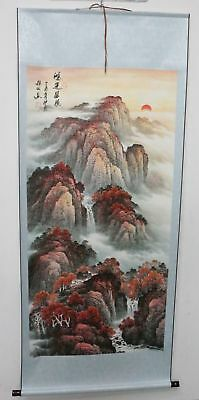Old Collection Scroll Chinese Painting /Landscape Painting ZH1041