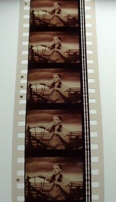 WIZARD OF OZ RARE MOVIE 35 mm STRIP 5  FILM CELLS JUDY GARLAND FREE SHIPPING