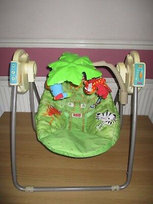 FISHER PRICE Rainforest Open top Take Along Swing Animals/Zoo/Neutral/Unisex