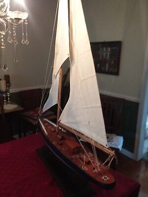 "38"" - Handcrafted Wooden Model Ship"