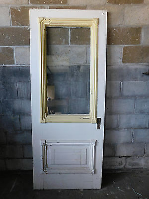 Antique Victorian Eastlake Style Entry Door - 1880 Fir Architectural Salvage
