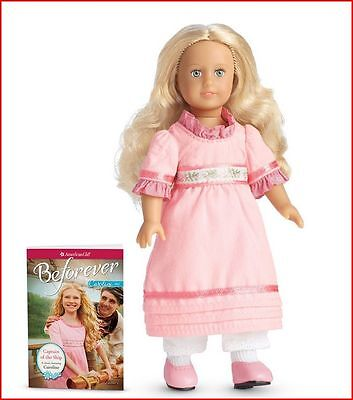 New In Box- American Girl Mini Doll with Clothes & Book- Caroline Abbott-