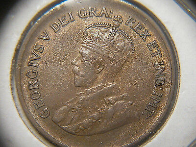 Canada 1936 One Cent AU - About Uncirculated - 1 cent