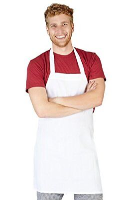 Natural Uniforms Commercial Bib Apron 6 White Aprons Work Clothing Shoes