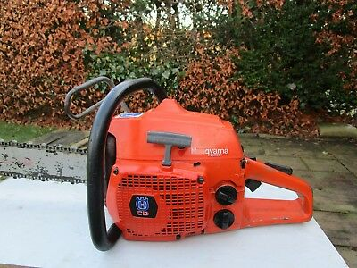 "Husqvarna 480cd chainsaw good 20"" bar and Oregon chain"