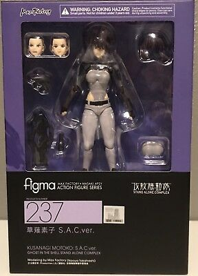 FIGMA Ghost in The Shell Stand Alone Complex Motoko Kusanagi Figure No. 237