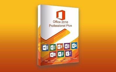 M/S Office 2016 Pro. Word, Excel, PowerPoint, 100% LEGAL, FREE, College, Student