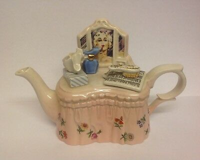 Paul Cardew 'lady's Dressing Table' One Cup Teapot