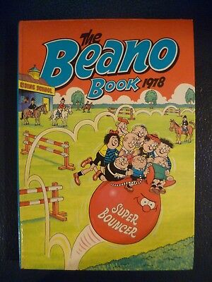 The Beano Book 1978 Hardback Annual Unclipped Collectible