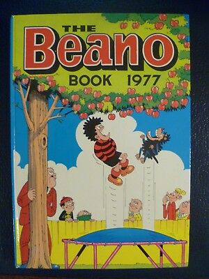 The Beano Book 1977 Hardback Annual Unclipped Collectible