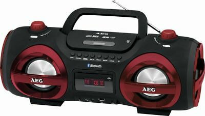 Luxus Aeg Bluetooth Ghetto Blaster Cd Player Mp3 Stereoanlage Boombox 53321141