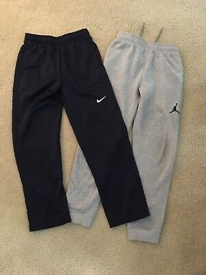 Nike Pants Thermal-Fit Large And Baseball Sweatpants Lot Of 2 Size 12-13