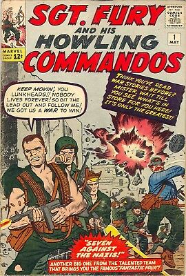 Us Comics Sgt Fury And His Howling Commandos Complete Collection On Dvd