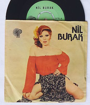 "7""  NIL BURAK - Canima Design / Ya Mustafa     turkish Disco 45  Single"