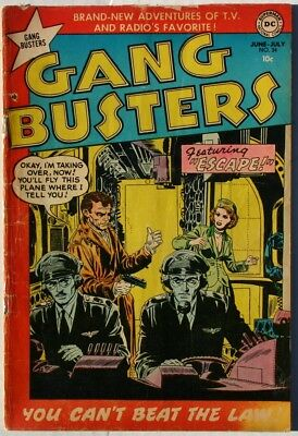 Gangbusters #34 - 1953 - Vg+