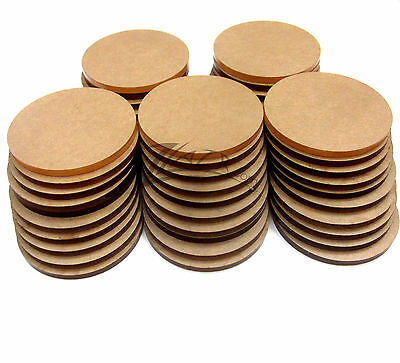 "100 Acrylic 3.5""dia.x1/8"" COASTER Circle Disc Craft Plastic Plexiglass Shape USA"