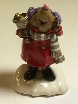 Wee Forest Folk retired, MO-2 Mole Bell Ringer Red