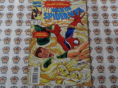 Web of Spider-Man (1985) Marvel - #107, Coming Storm Part 1, Kavanagh, VF/+