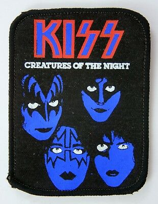 KISS 'Creatures of the Night' Vintage Printed Patch * Metal *