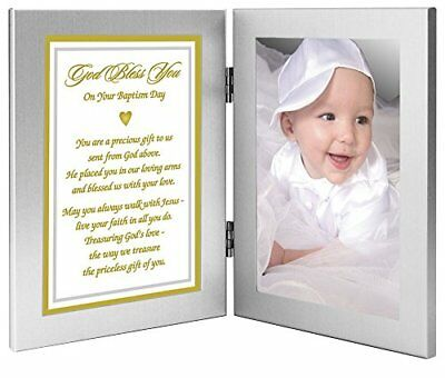 """Baby Baptism Gift From Grandparents, Godparents - """"Precious Gift From God Above"""""""