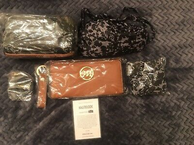 Emilie M. Hautelook Black / Grey Essentials Box With 5 Items!!!GOES WITH PURSE