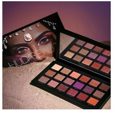 2017 New Huda Beauty Desert Dusk Eye Shadows Palette Eye Shadows 18 Colors UK