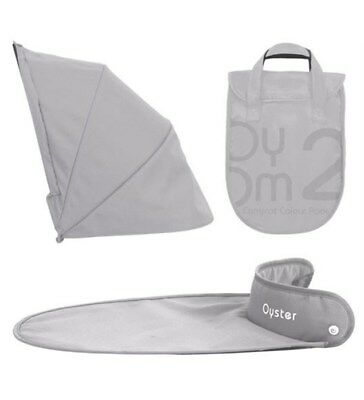 Oyster Carrycot Colour Pack - Silver Mist - New
