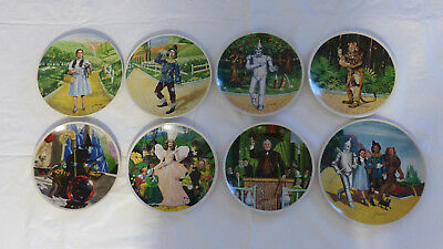 """Knowles Collector Plates - """"the Wizard Of Oz"""" Complete Series (8 Plates) 1979"""