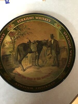 Green River Whiskey Rare Metal Serving Tray