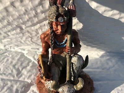 native american indian figurines