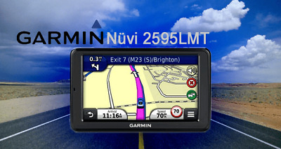Garmin Nuvi 2595LMT GPS with Lifetime Maps and Traffic updates