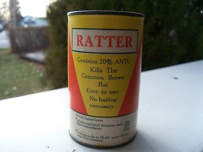 Rattler Rat Killer Container Dill Co. Norristown, Pa.