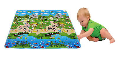 Baby Play Mat Foam Floor Child Activity Soft Toy Gym Crawl Creeping Blanket Kids