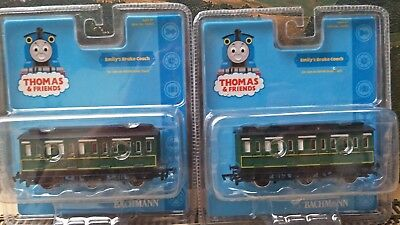 """THOMAS THE TANK AND FRIENDS 2 x """"EMILY"""" Coaches"""