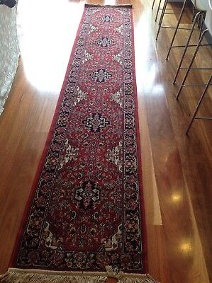3.5m Hallway Runner X 2 (Traditional Red)