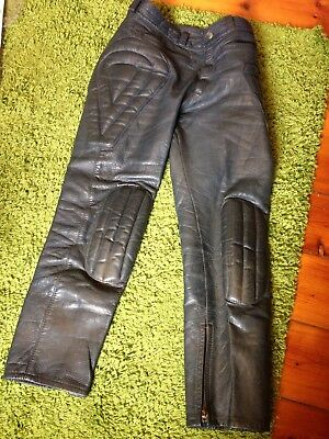 Mars Leathers Motorcycle Pants Size 32