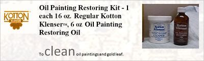 Kotton Klenser OIL Painting Restoration Kit