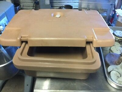 """cambro food carrier Its Full Size Pan 4"""" Deep"""