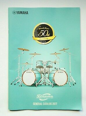 YAMAHA Drums General Catalogue 2017 Japan Snare Stage custom System Drums